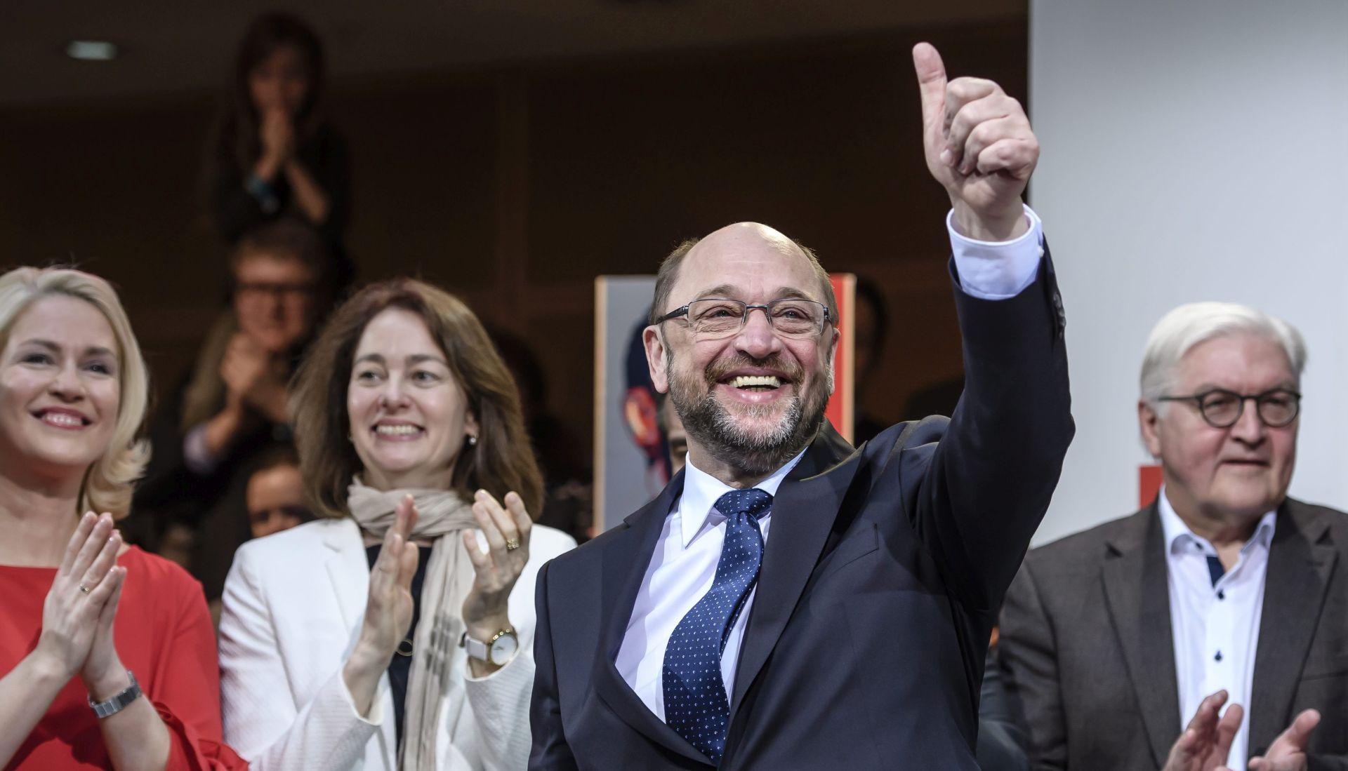 Schulz imenovan kandiatom SPD-a za kancelara, obećao borbu protiv nejednakosti