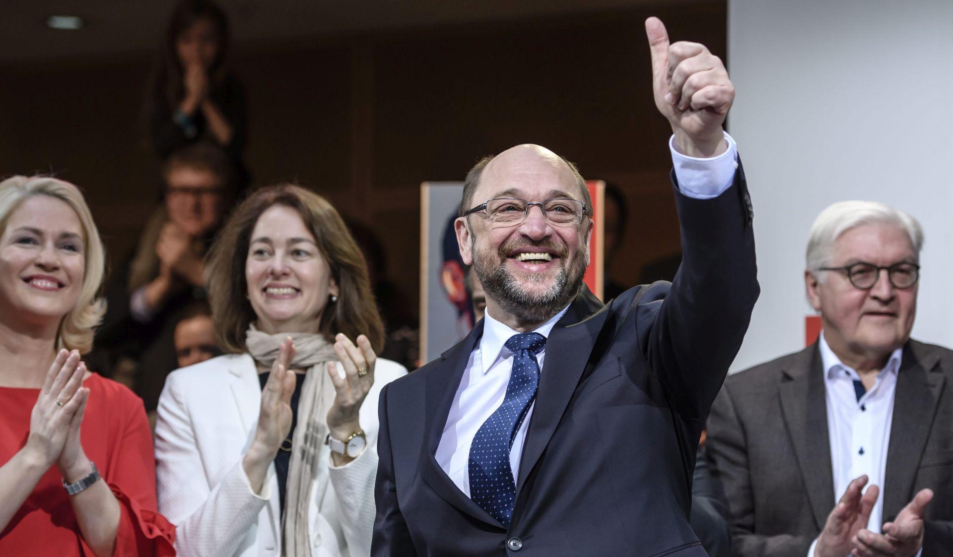 Schulz obećao učiniti SPD najjačom političkom strankom Njemačke