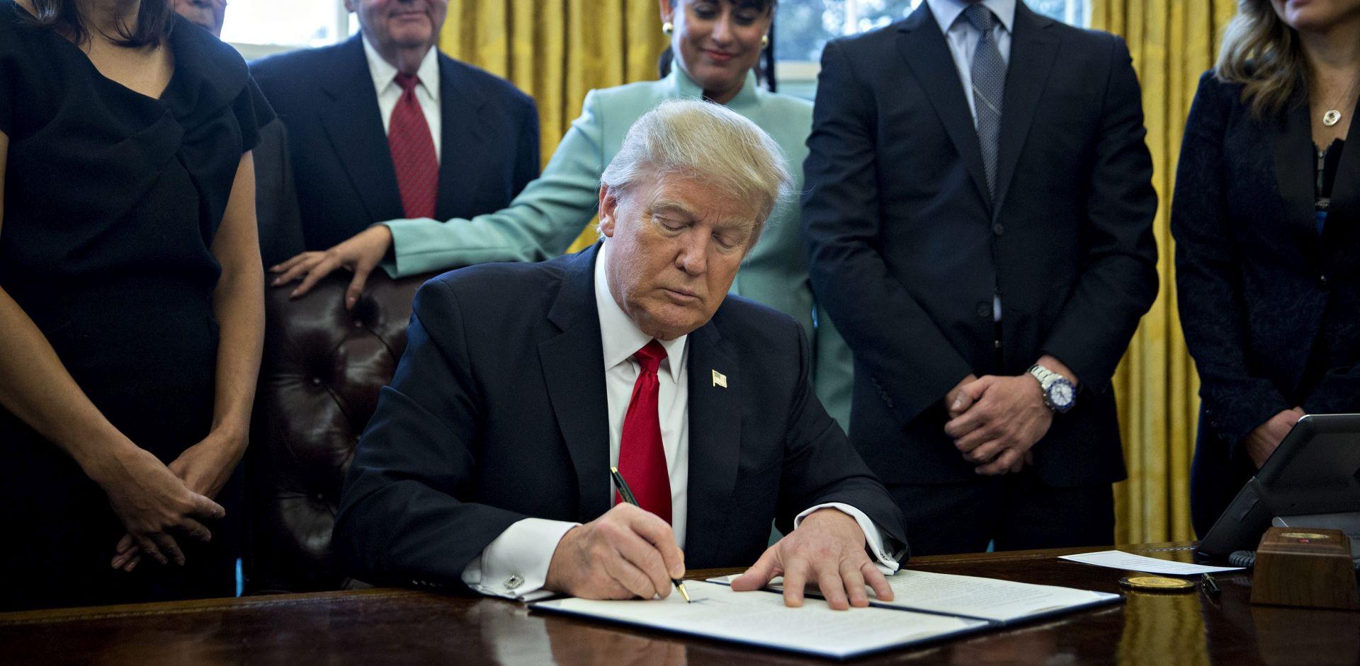 NOVA UREDBA DONALDA TRUMPA: SAD će promijeniti politiku prema klimatskim promjenama