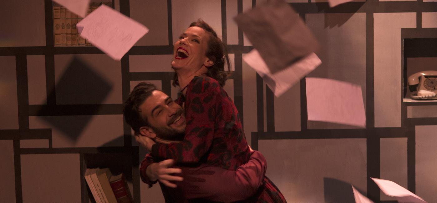 IGRA U DVOJE Humorna 'kazališna' drama Tita Strozzija u tri čina