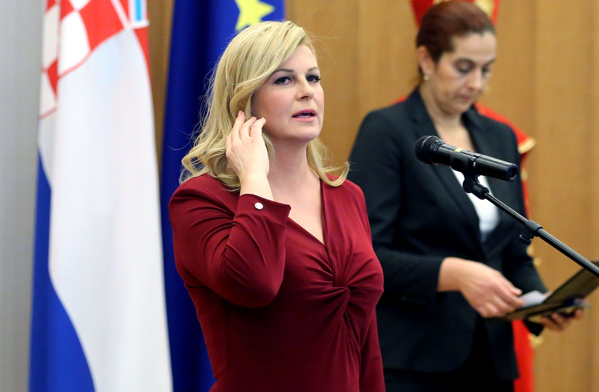 RADNI POSJET: Troškovi puta predsjednice Grabar-Kitarović SAD-u 73.800 kuna