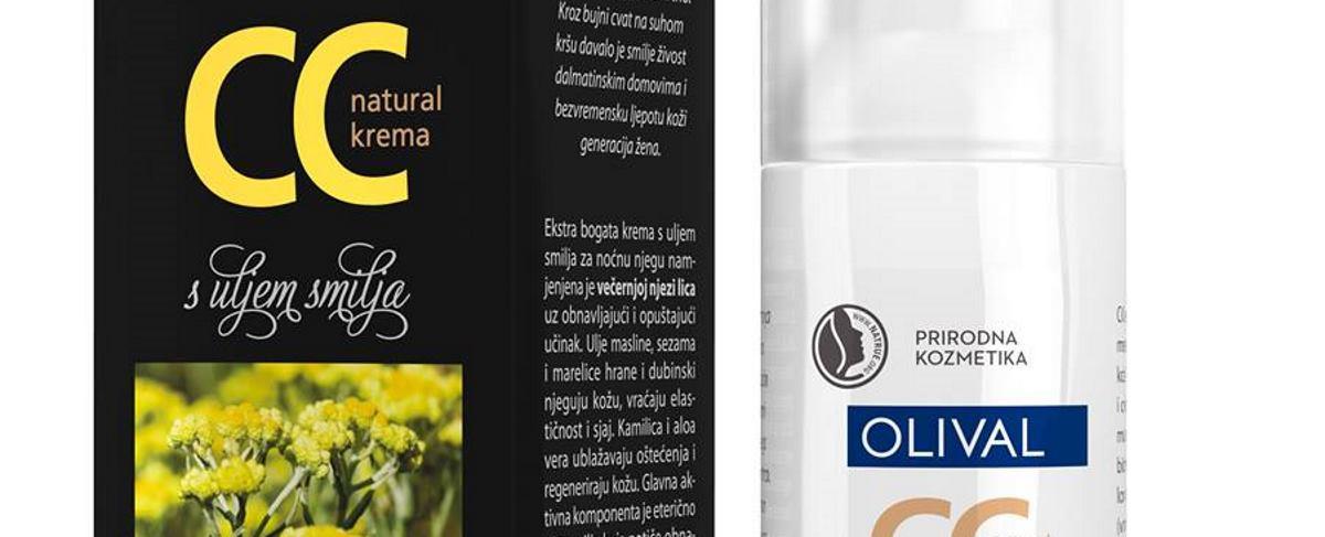 Krema s uljem smilja i anti-age učinkom