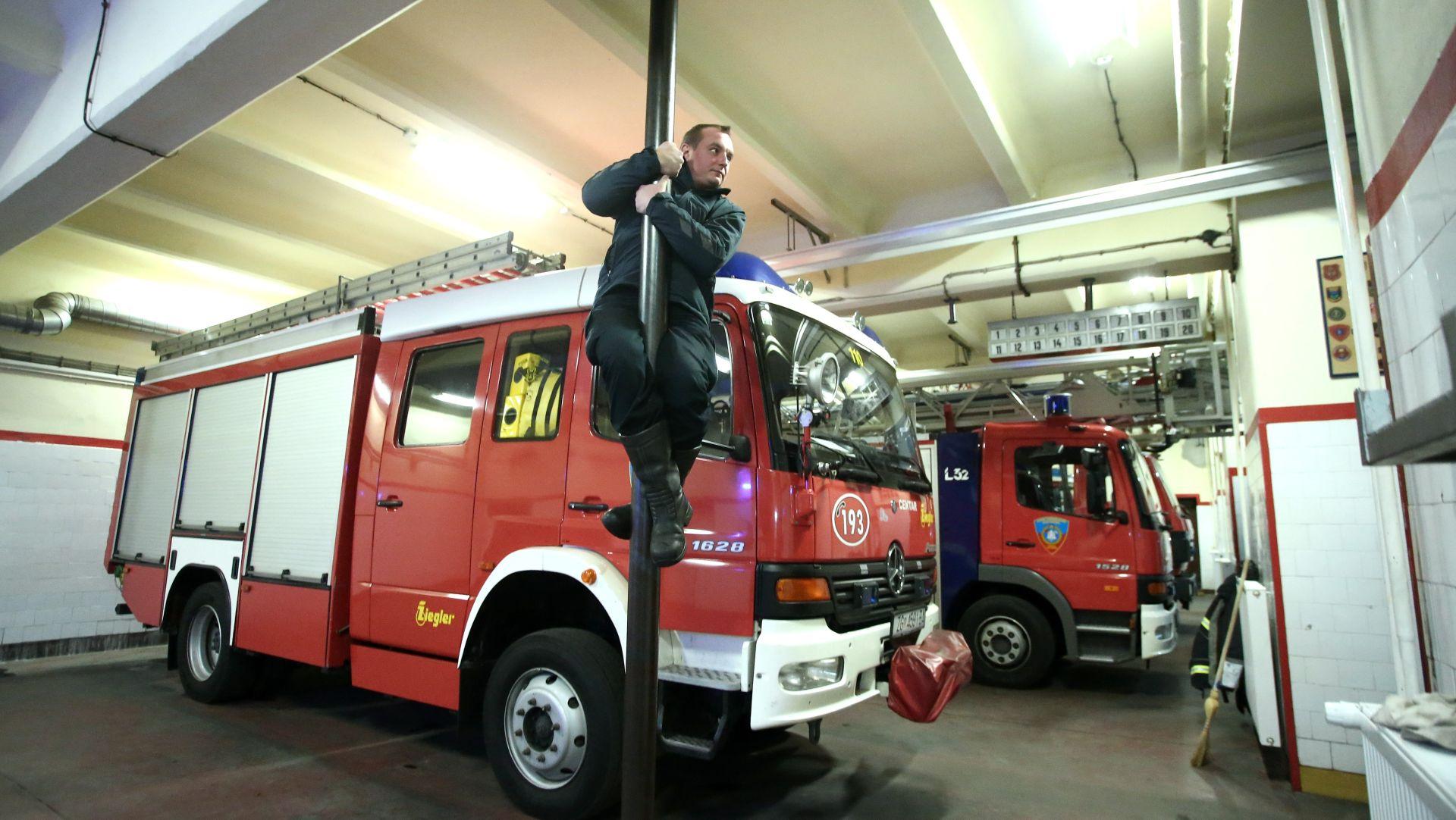 Lokalizirana dva velika požara u Zagrebu