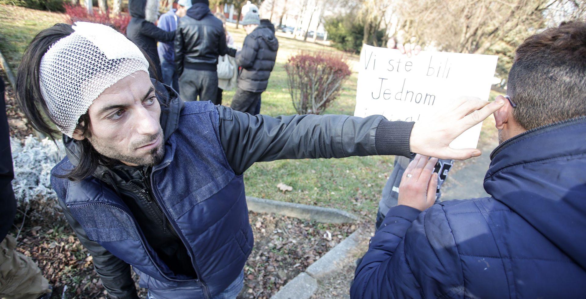 Zagrebčaka policija podnijela kaznene prijave protiv napadača na azilante
