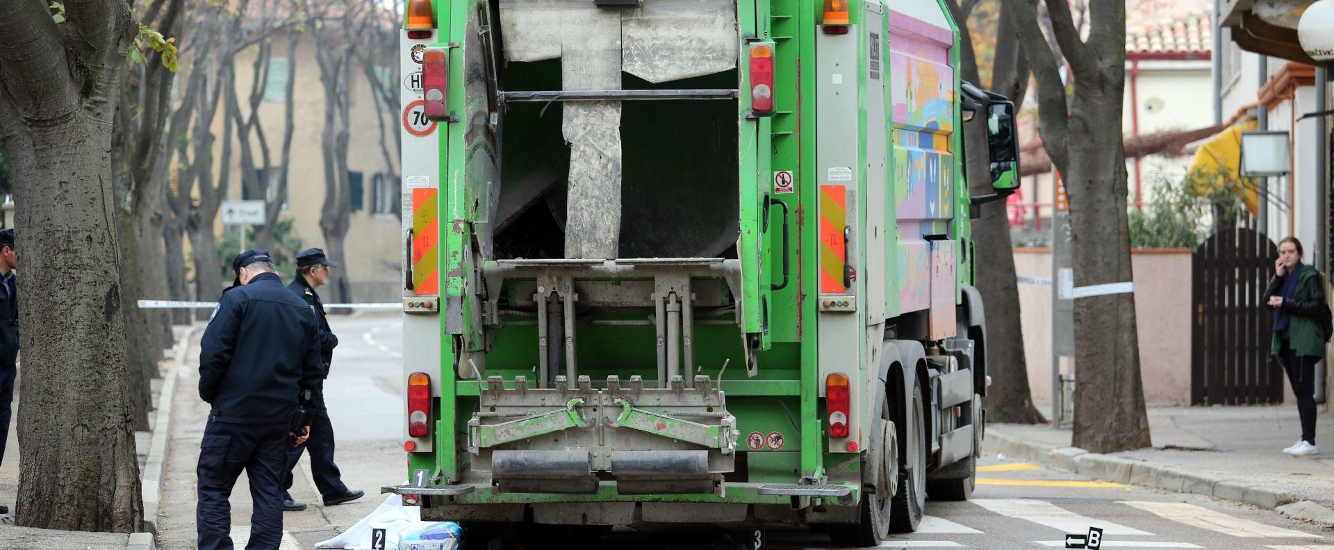 ODRANSKI OBREŽ Kamion Čistoće jutros pregazio smetlara