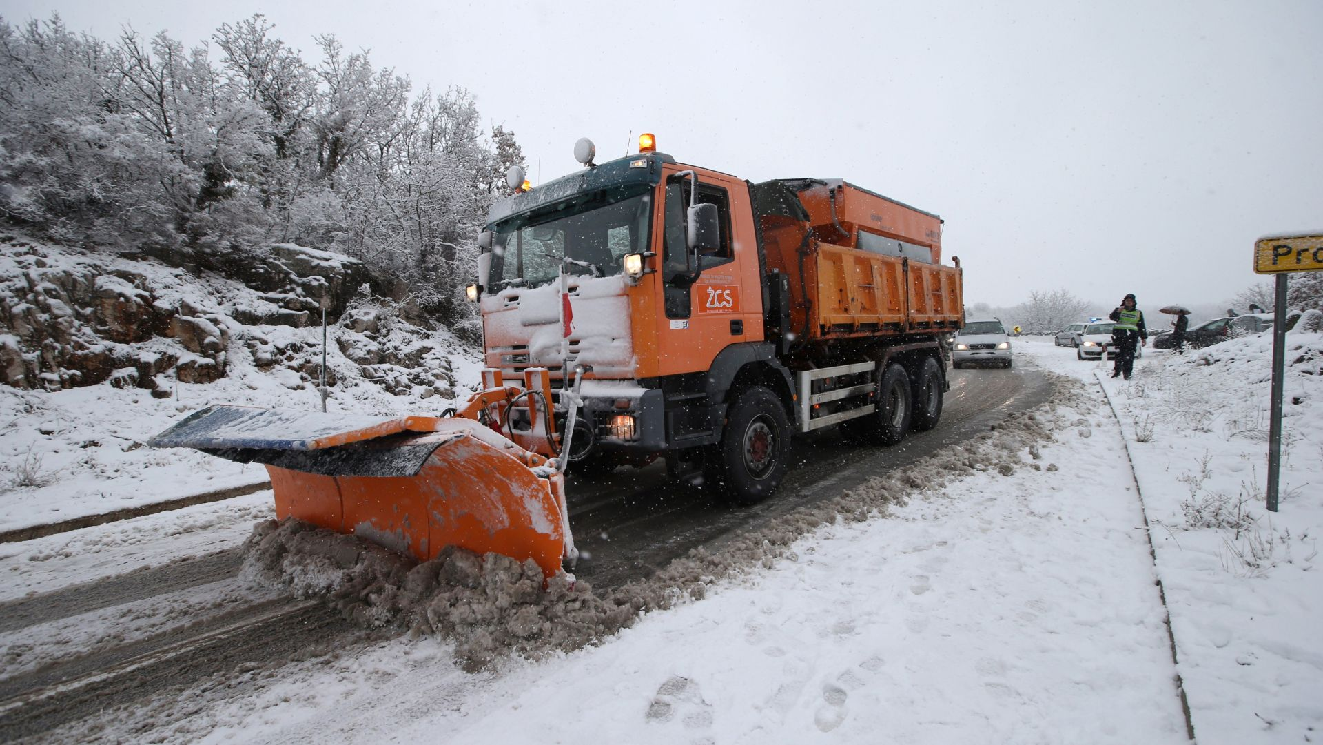 HAK Zimski uvjeti na cestama