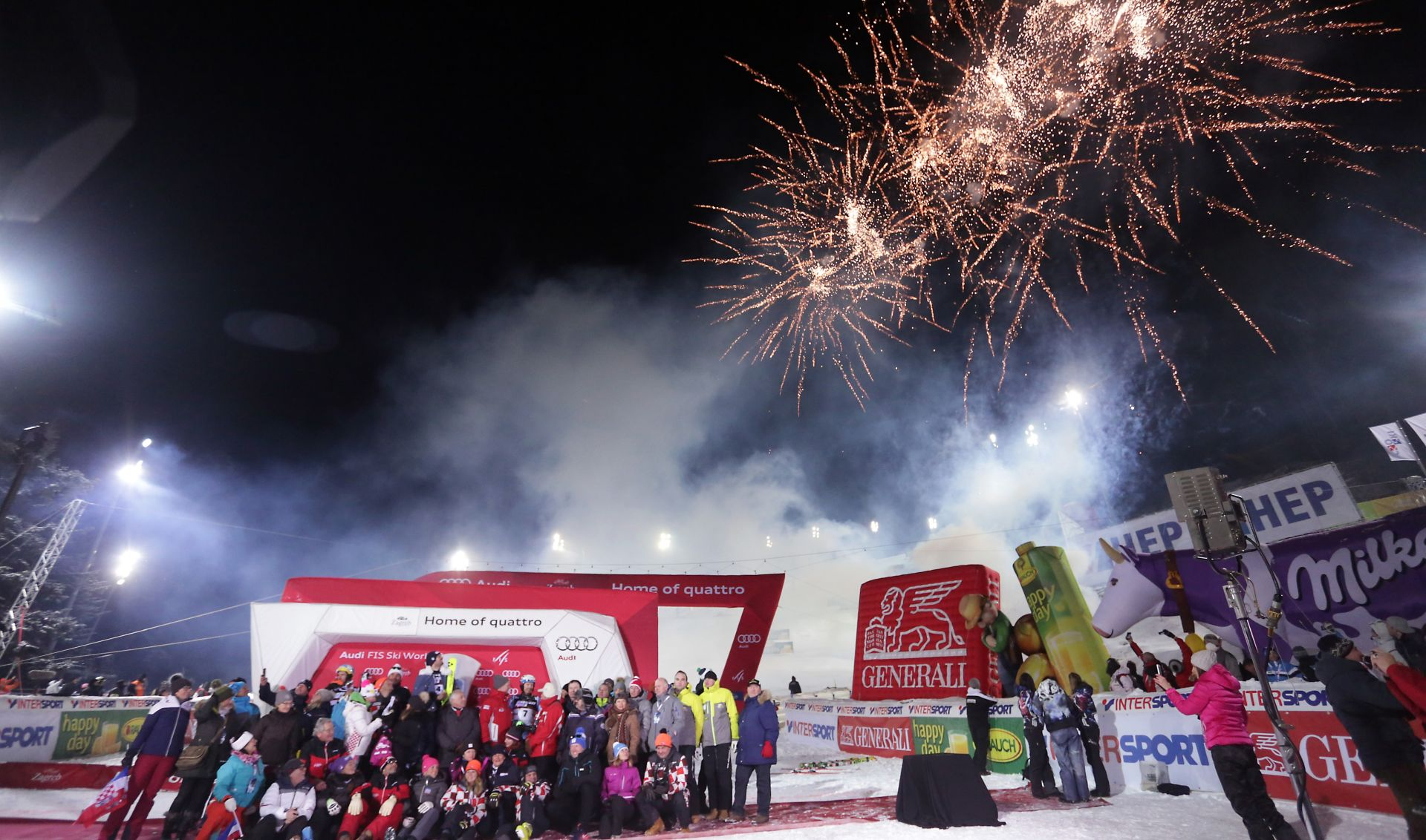 Rezultati sljemenskog slaloma i ukupni poredak