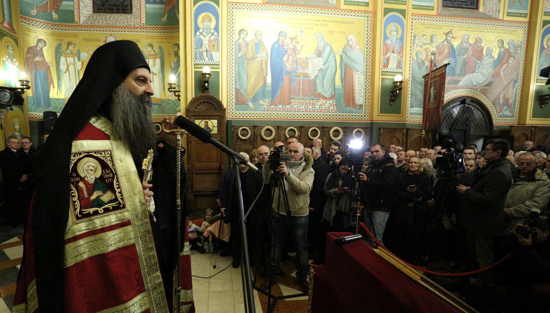 Pravoslavni vjernici proslavili Badnjak