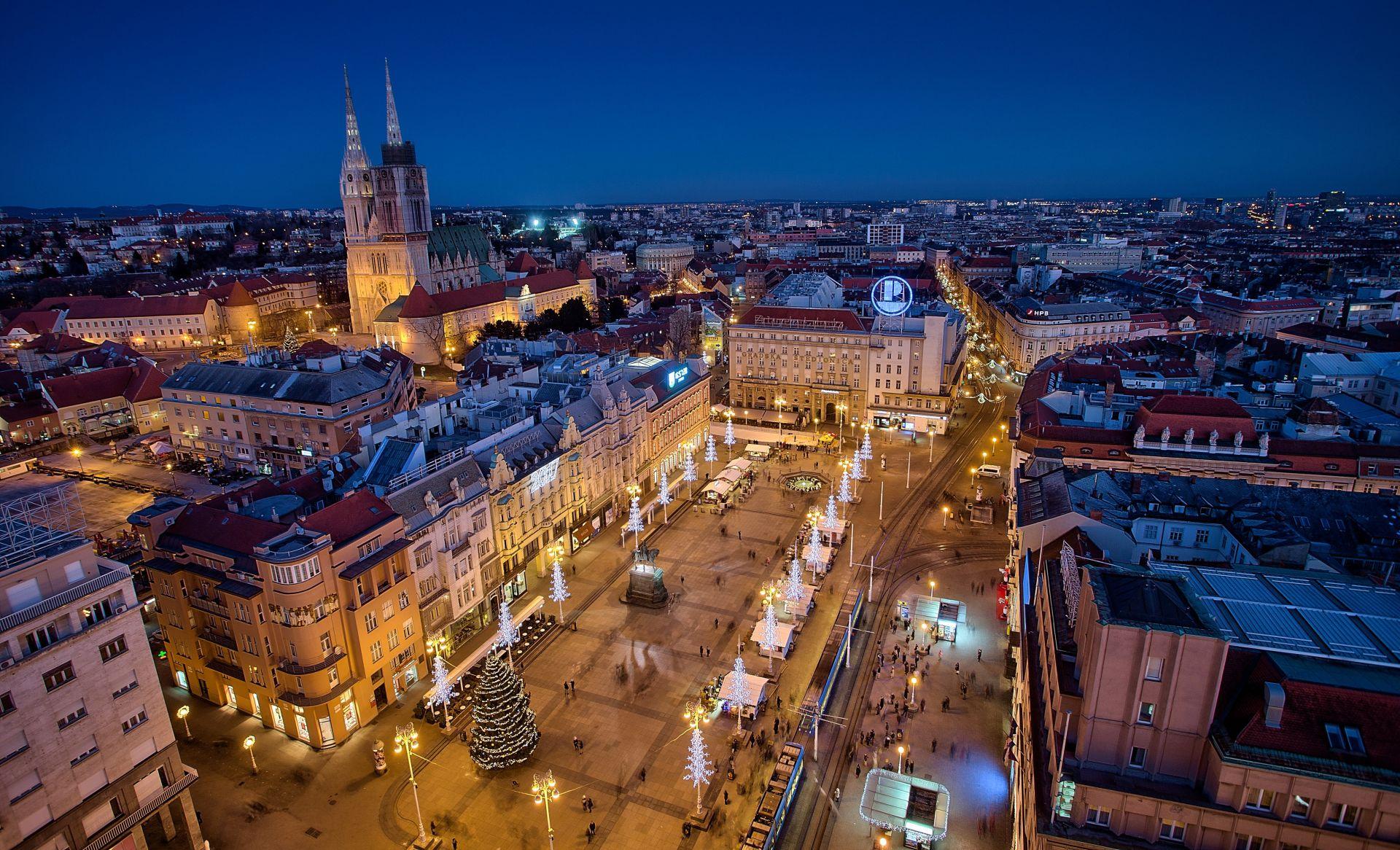 Zagrebačka neto plaća za listopad 0,18 posto viša