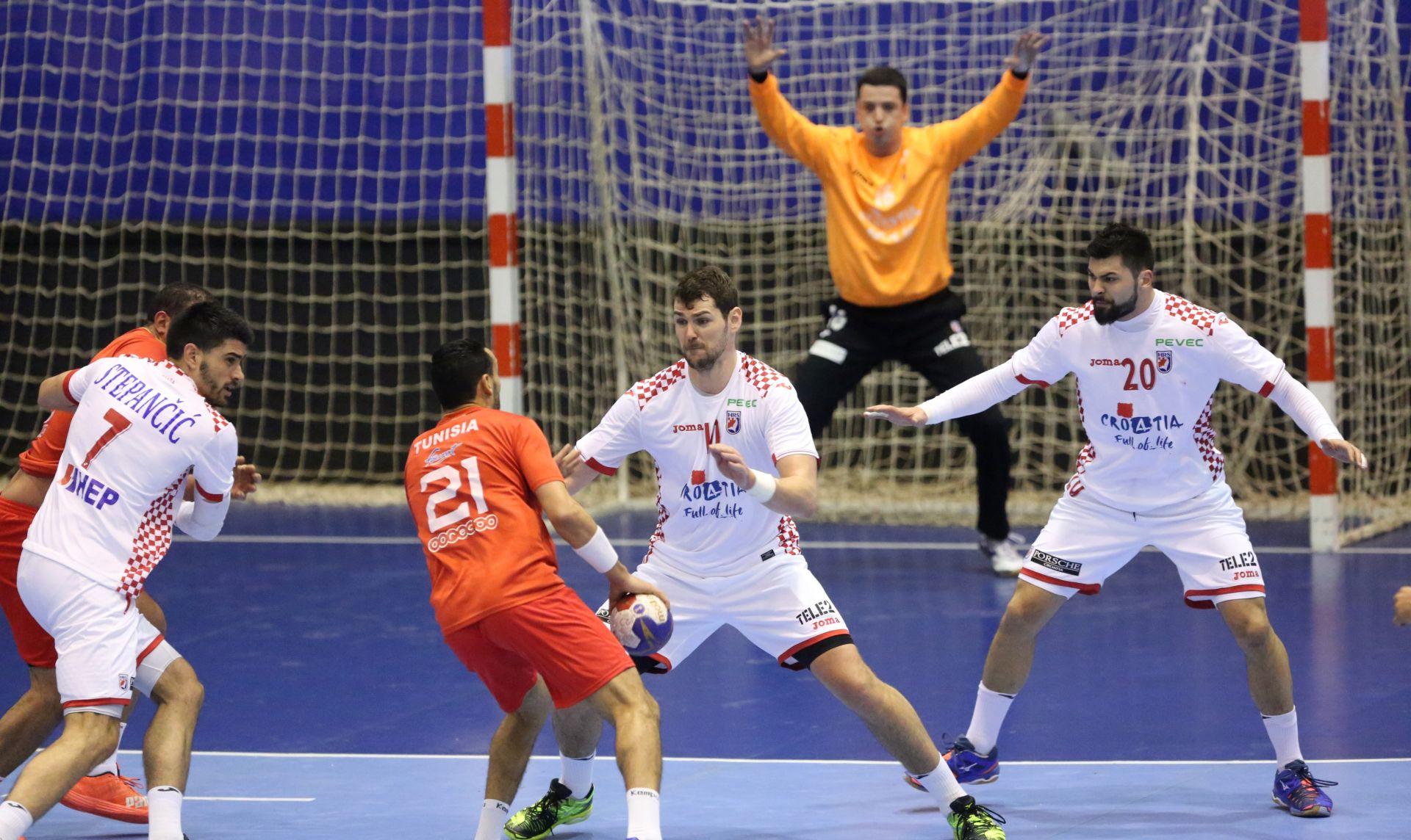 Croatia Cup: Hrvatska – Tunis 35-30