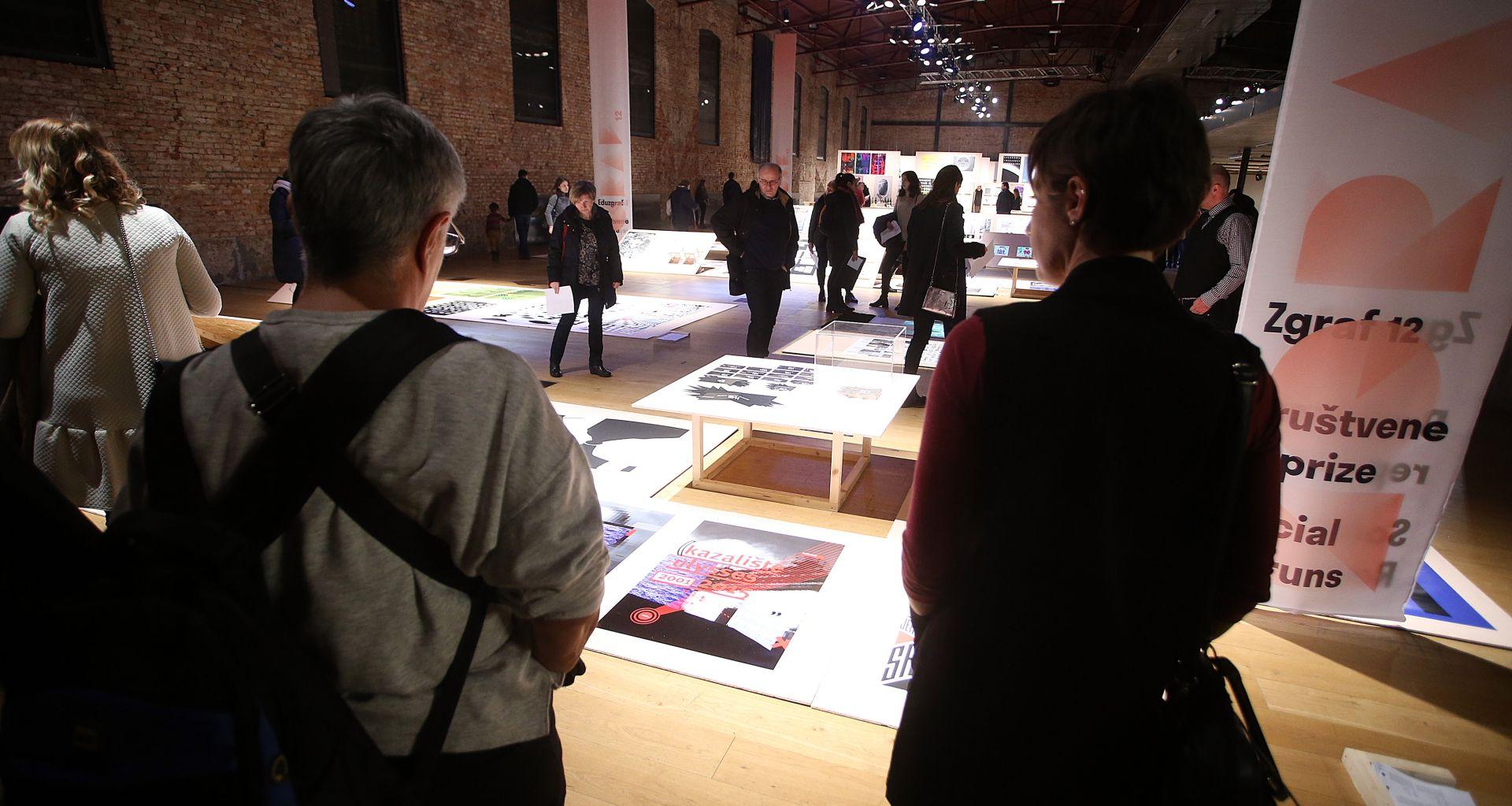 Otvorena međunarodna izložba grafičkog dizajna Zgraf 12