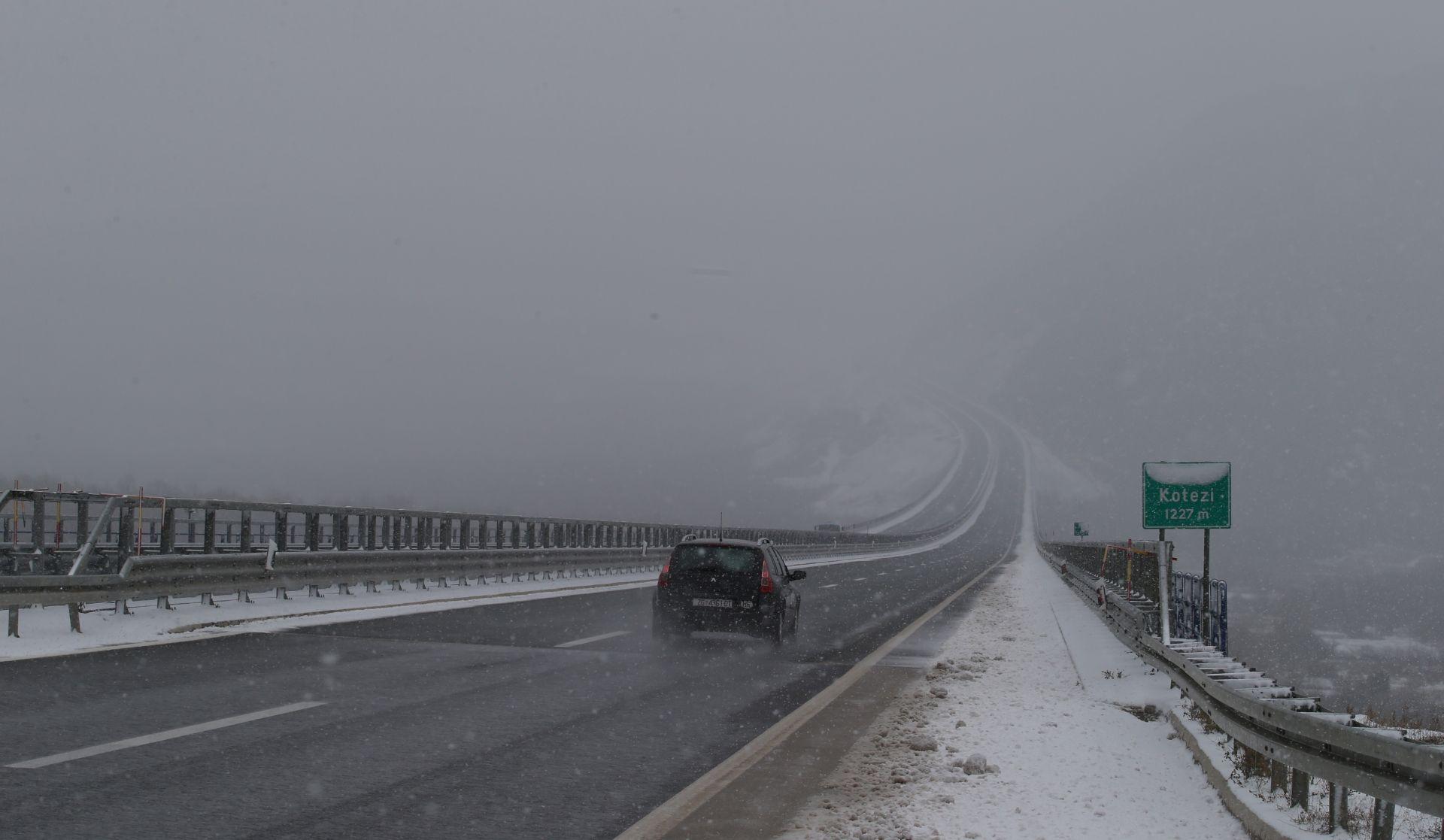 HAK Ukinuti zimski uvjeti na dionicama A6 i D3