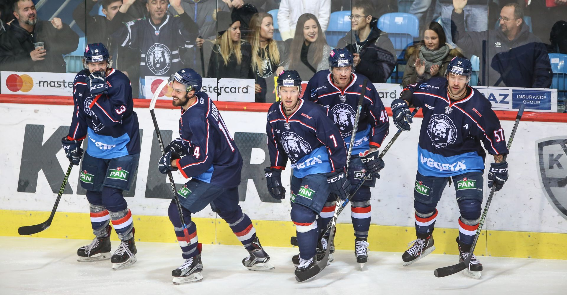 EBEL: Black Wings Linz – Medveščak 8-2
