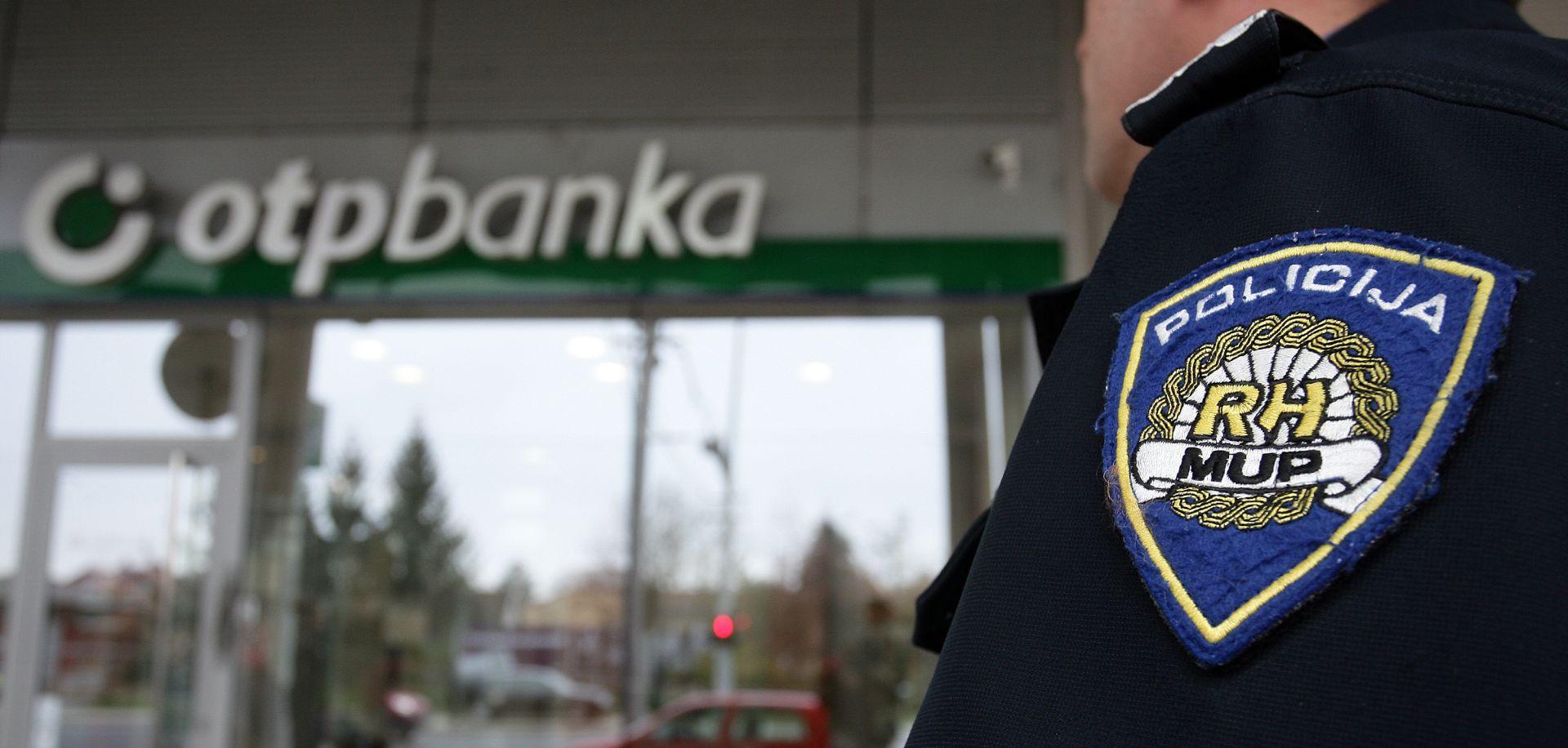 KOD CVJETNOG TRGA Opljačkana banka na Cvjetnom trgu, policija uhitila razbojnika