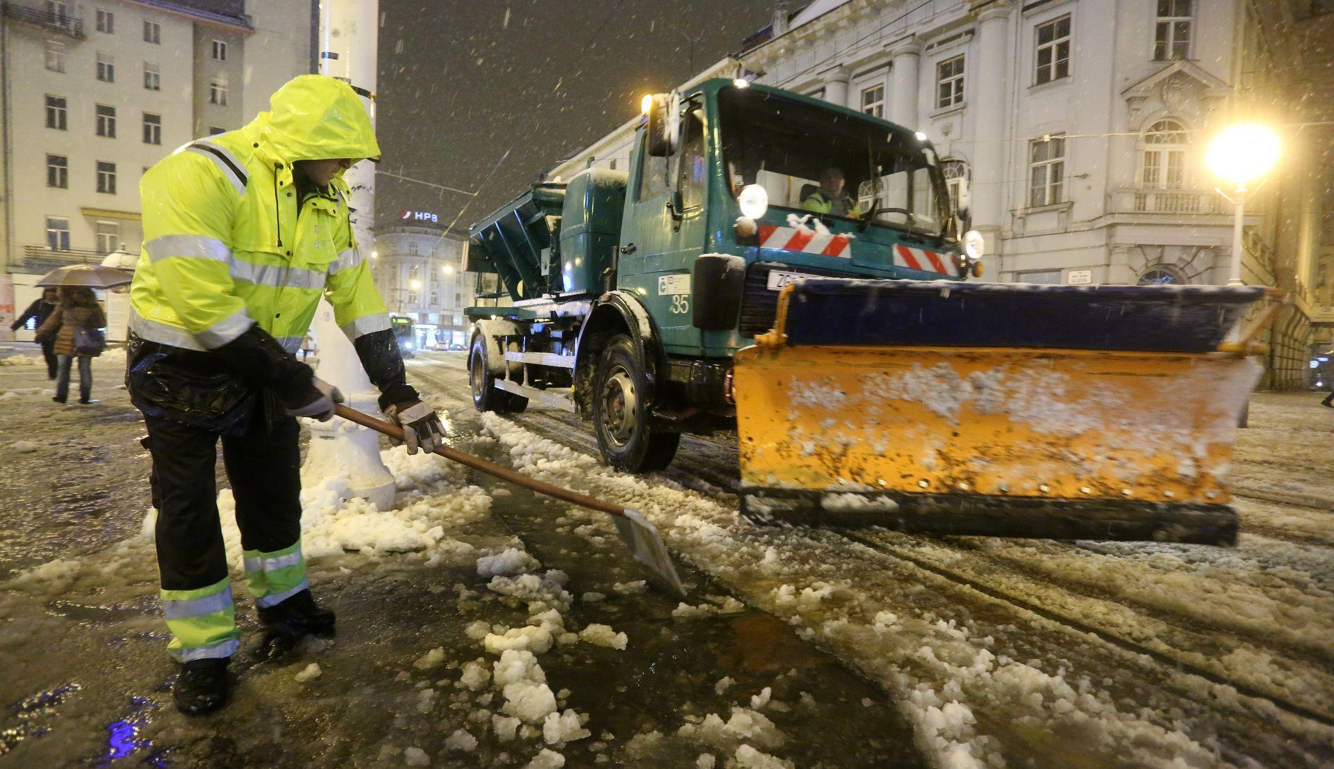 ZAGREB Zimska služba očistila sve ulice