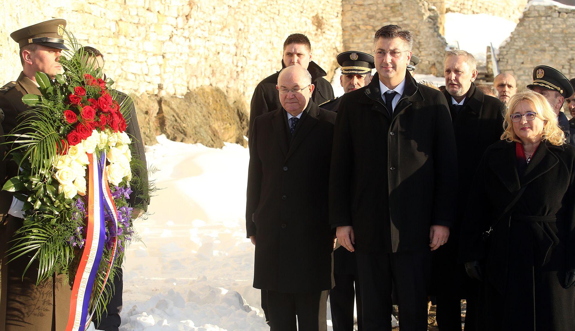 PLENKOVIĆ 'Zahvalnost svima koji su dali život i vizionarskoj Tuđmanovoj politici'