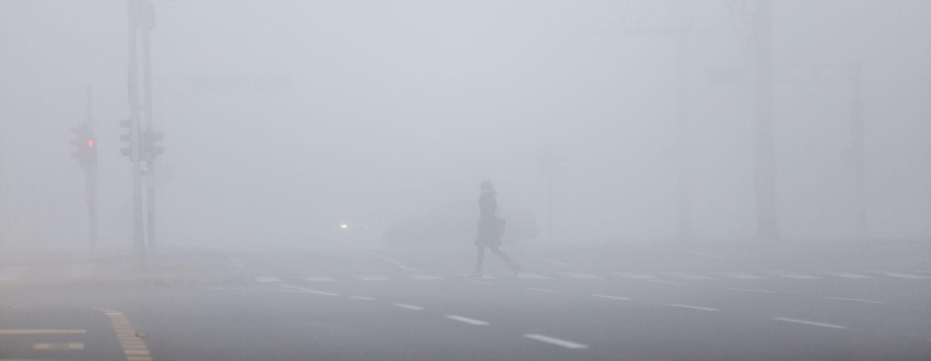 HAK Magla smanjuje vidljivost, moguća poledica u unutrašnjosti