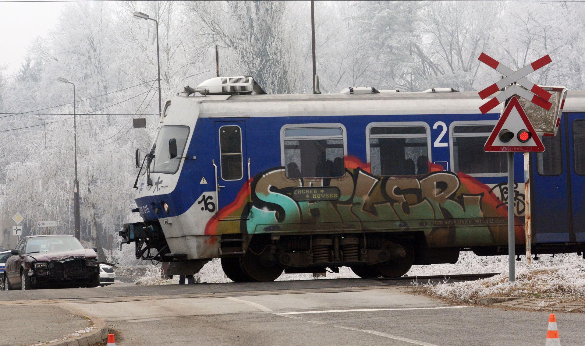 Dječaka na Črnomercu udario vlak