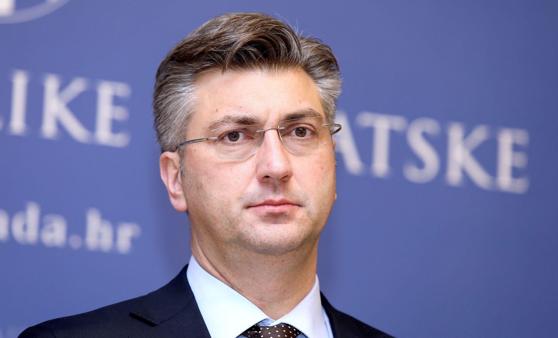 Plenković komentirao Vučićev poziv u Beograd