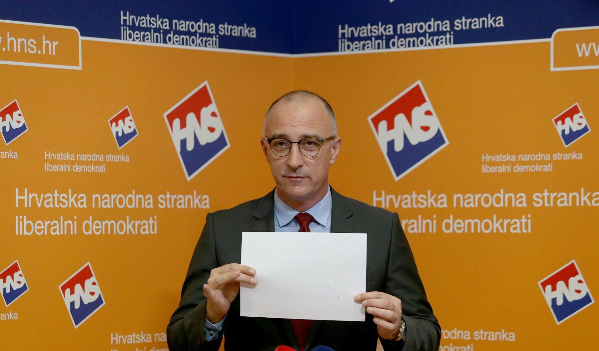 HNS 'Plenković je svjesno obmanuo javnost o plagijatoru Barišiću'