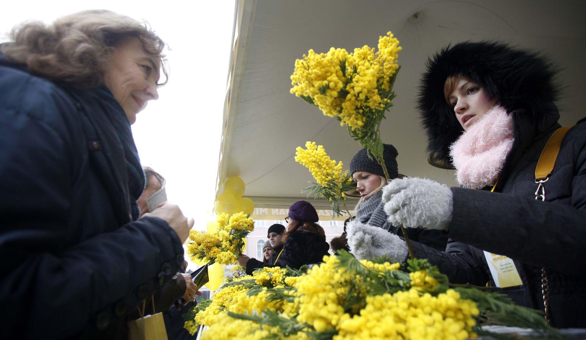 Dan mimoza posvećen prevenciji raka vrata maternice