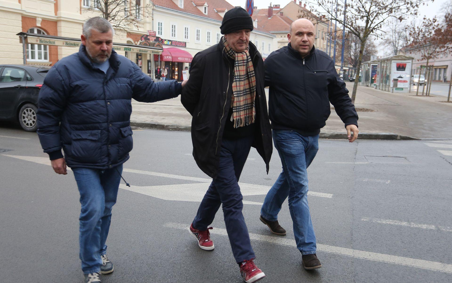 Delimustafić nakon izručenja iz Hrvatske u zatvoru u Sarajevu