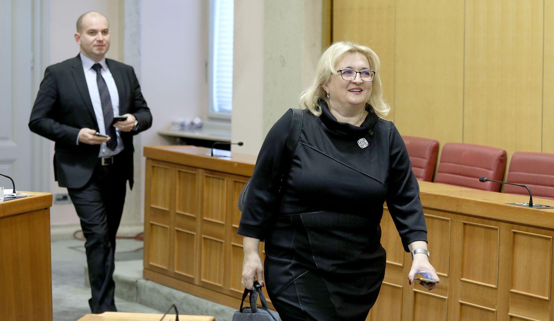 Strenja Linić ponovila da nije bila na tajnom sastanku s Milanovićem