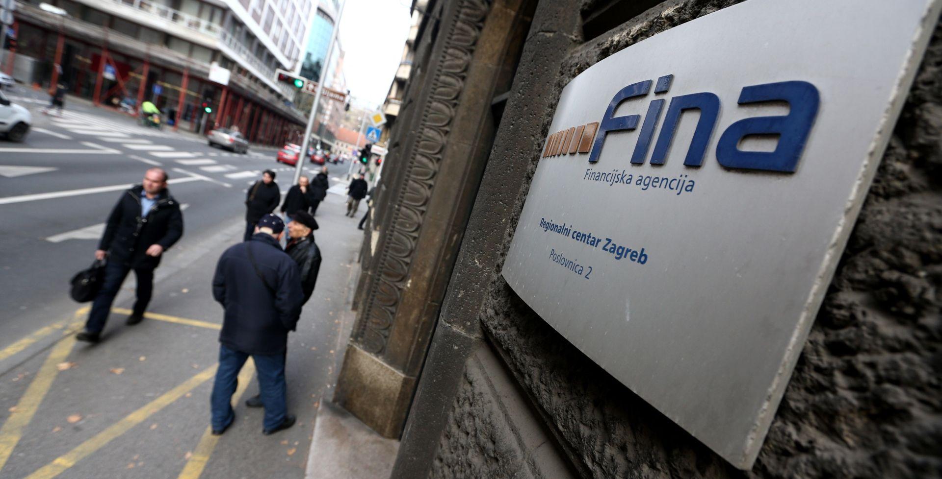 FINA Najzaduženiji zagrebački i međimurski poduzetnici