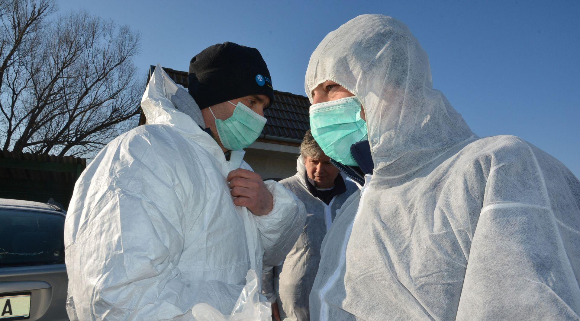 U blizini Velike Gorice zabilježen novi slučaj ptičje gripe