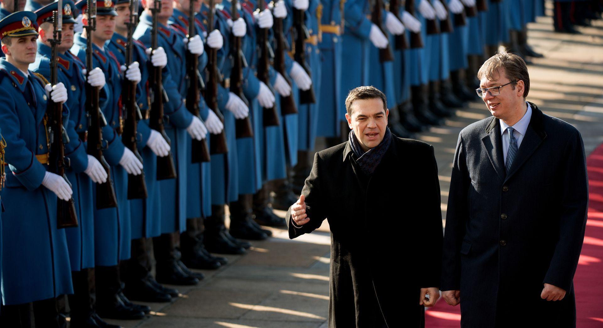 Cipras i Vučić dogovorili jačanje odnosa Srbije i Grčke