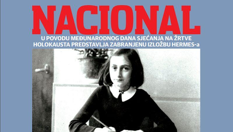 FOTO: MEĐUNARODNI DAN SJEĆANJA NA ŽRTVE HOLOKAUSTA Nacional ponovno omogućio Šibenčanima razgledanje dijela izložbe 'Anne Frank – povijest za sadašnjost'