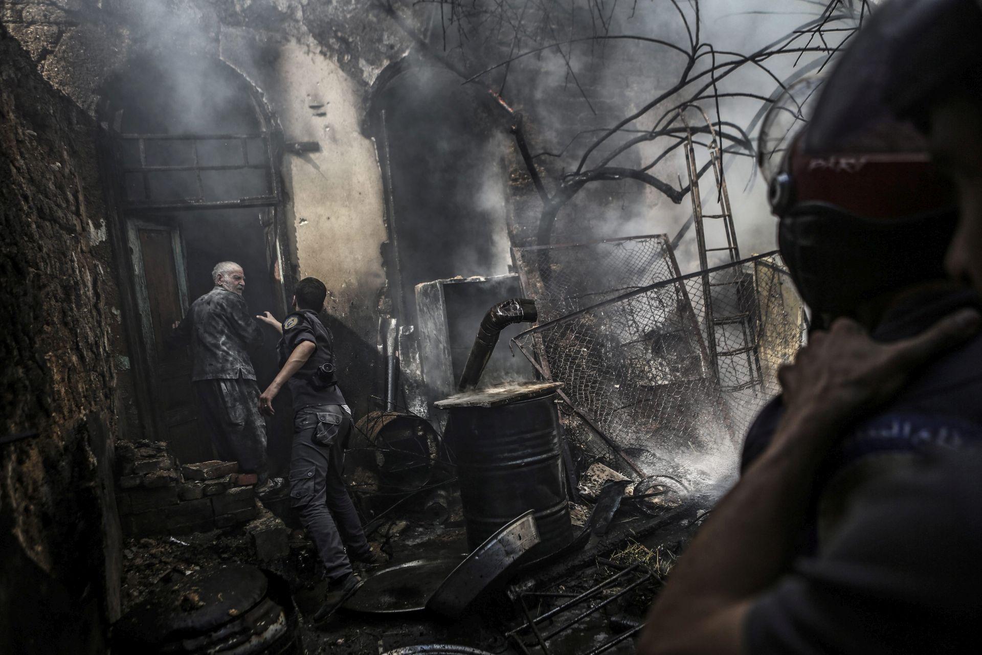 BOMBAŠKI NAPAD: Najmanje osmero mrtvih u Damasku
