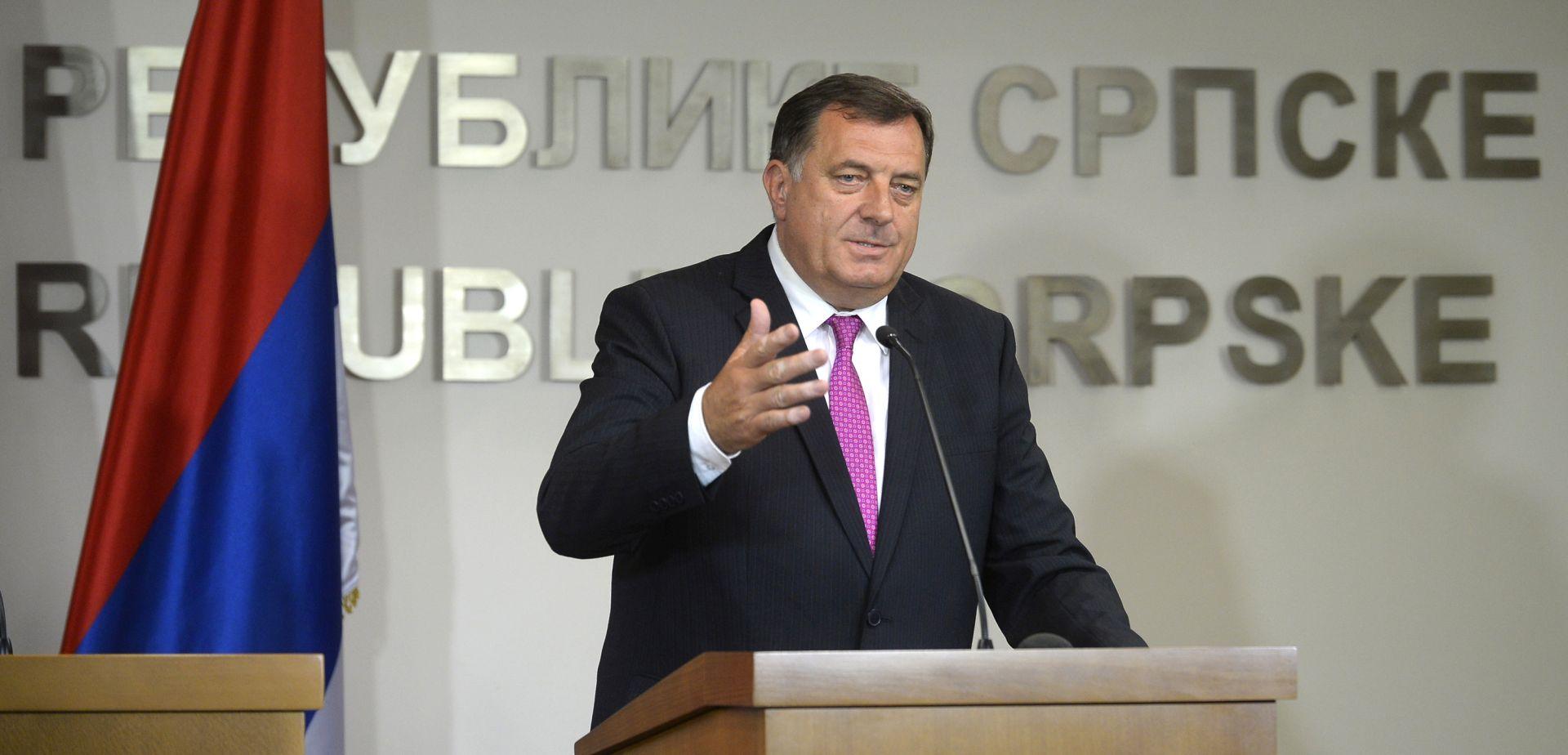 Dodik optužio Ivanića za potporu sankcijama protiv Rusije i približavanje NATO-u