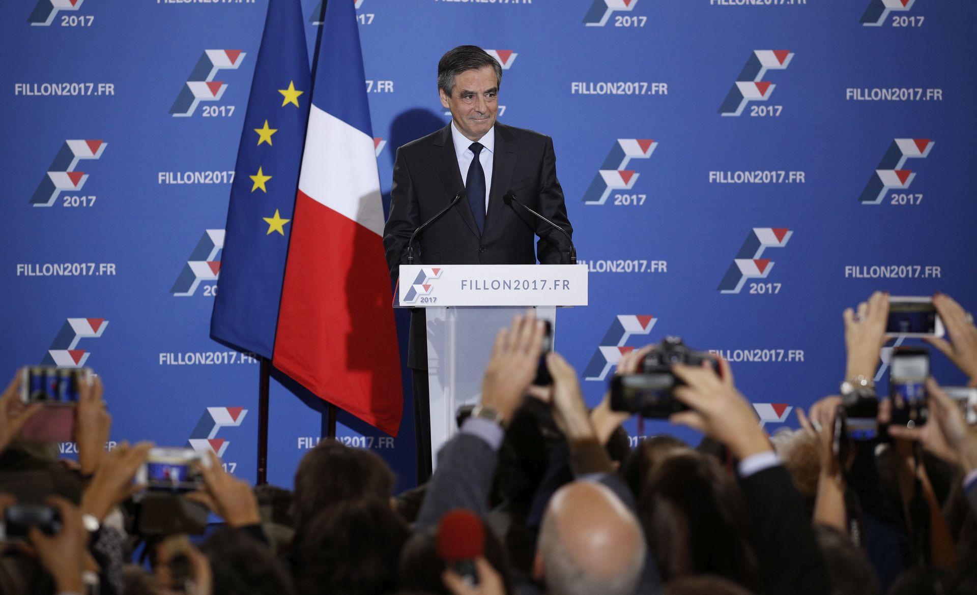 RAZGOVORI S MERKEL: Kandidat francuskih konzervativaca Fillon u Berlinu