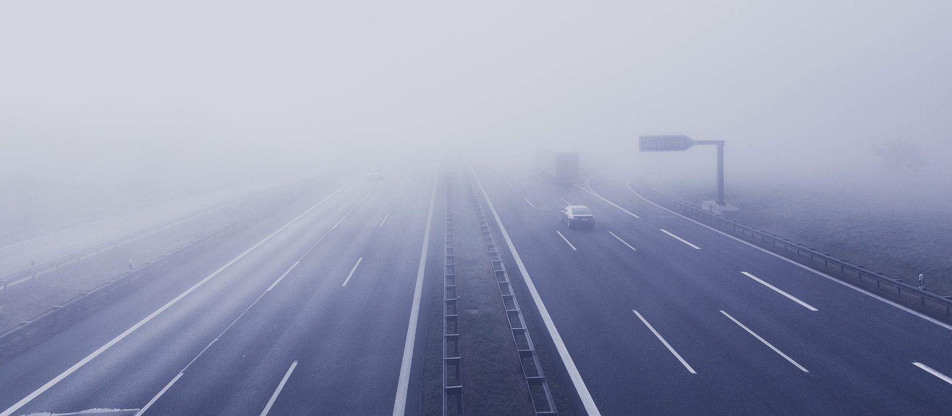 HAK Magla smanjuje vidljivost, kolnici vlažni i skliski