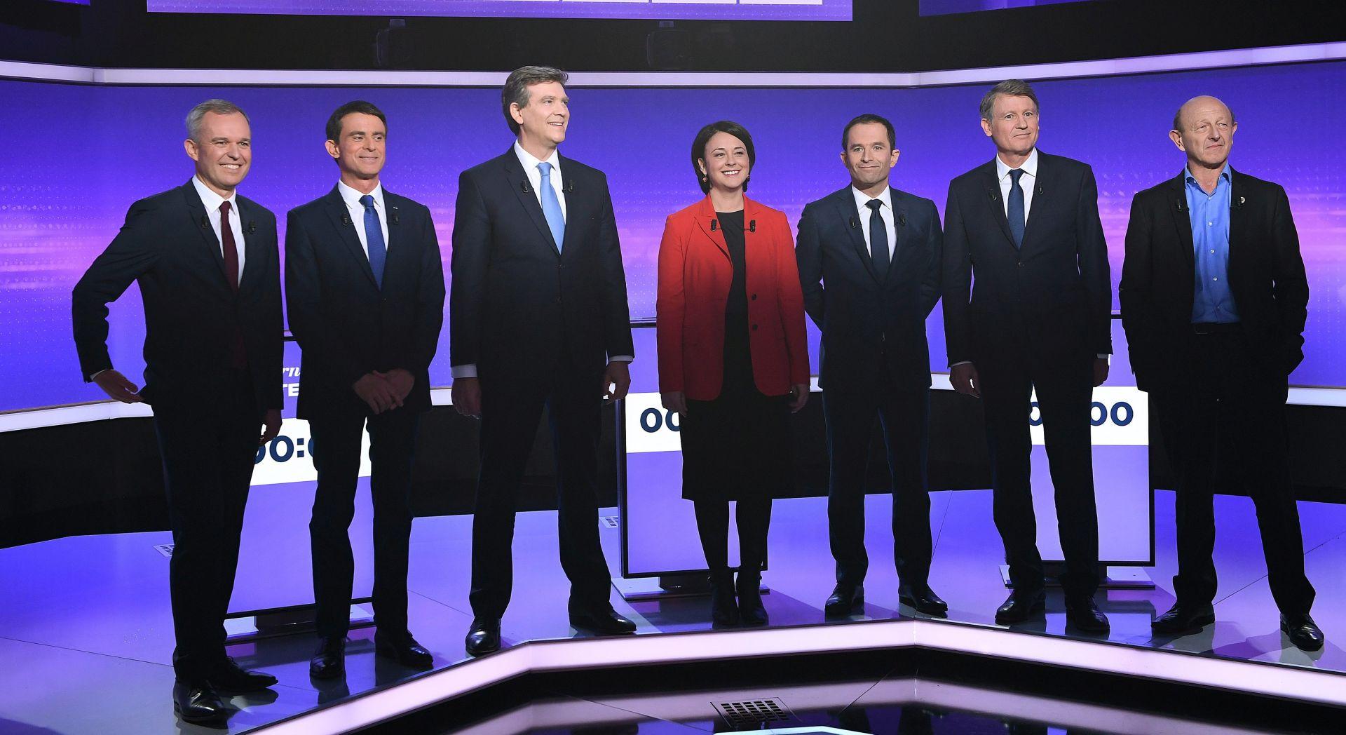U UTRCI SEDAM KANDIDATA: Francuzi biraju predsjedničkog kandidata ljevice
