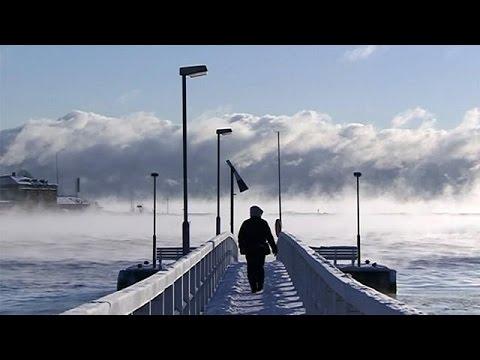 VIDEO: Europa pod ledom