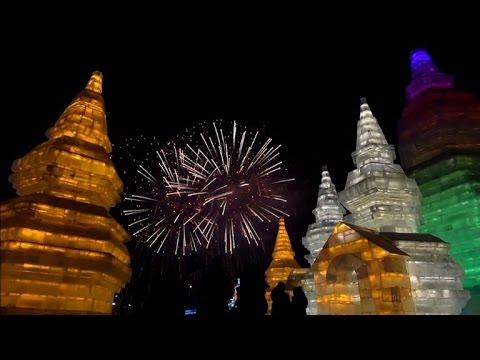 VIDEO: Otvoren 'ledeni festival' u kineskom gradu Harbinu