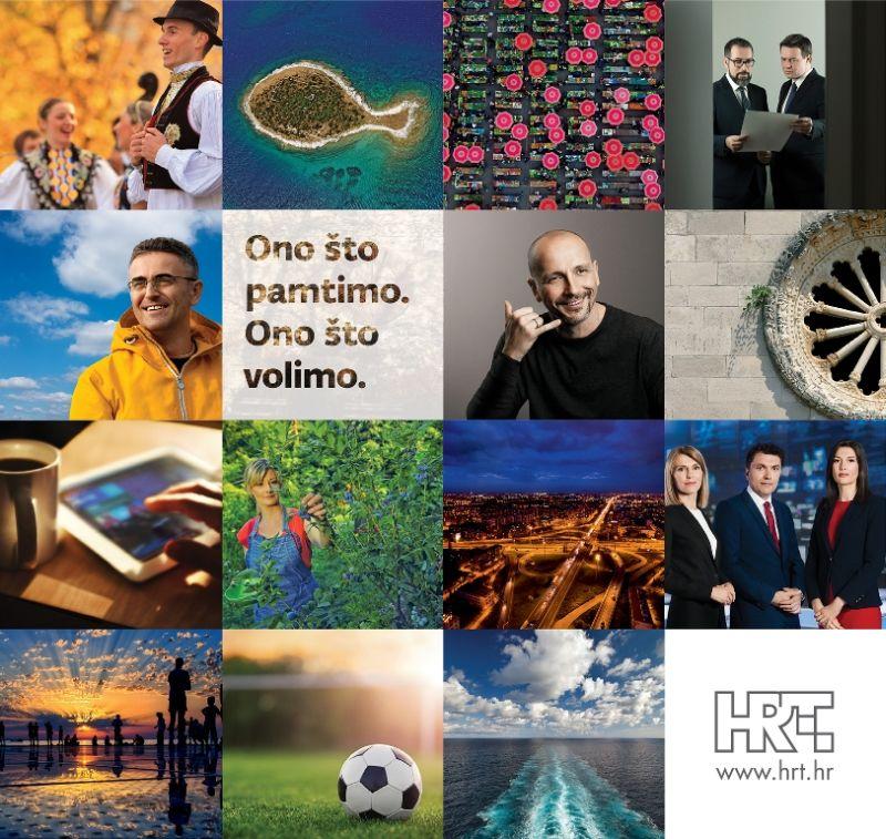 FOTO: Hrvatska radiotelevizija i u 2017. nastavlja kampanju 'Ono što pamtimo. Ono što volimo.'