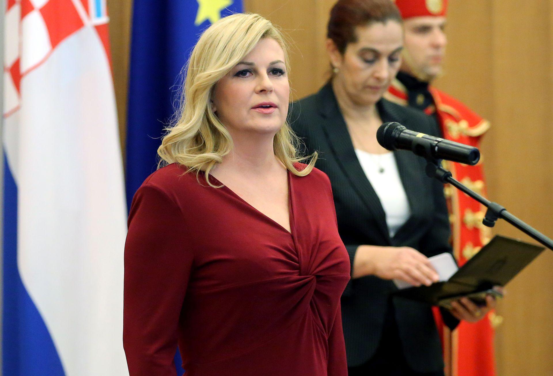 HNS: 'Smatramo da predsjednica svojim izjavama ispred Bijele kuće sramoti Hrvatsku'