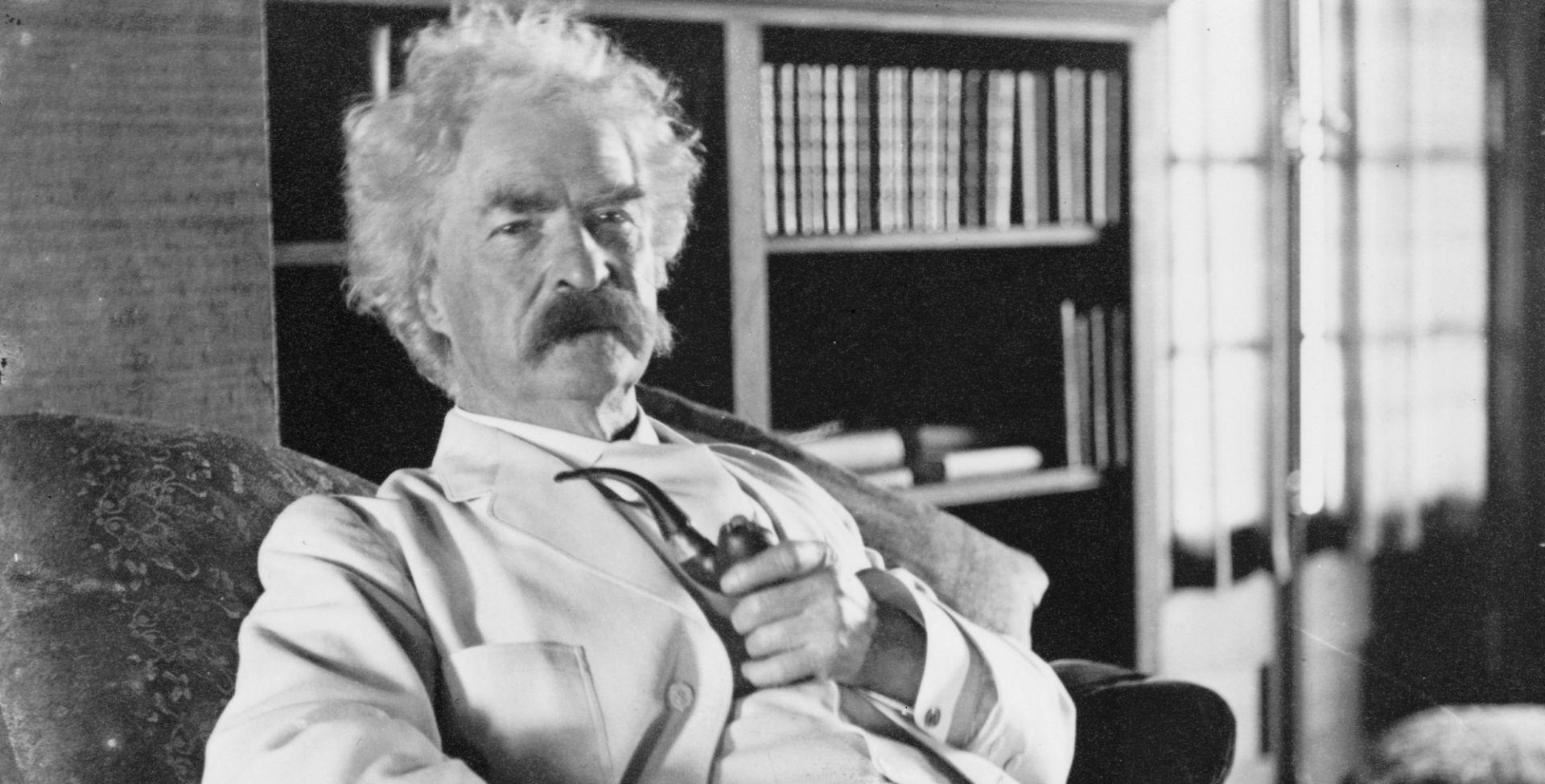 Napišite roman u privatnoj knjižnici Marka Twaina