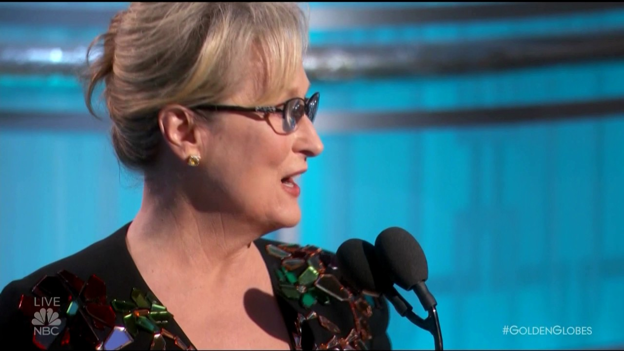 VIDEO: ZLATNI GLOBUSI Meryl Streep 'raspalila' po Donaldu Trumpu