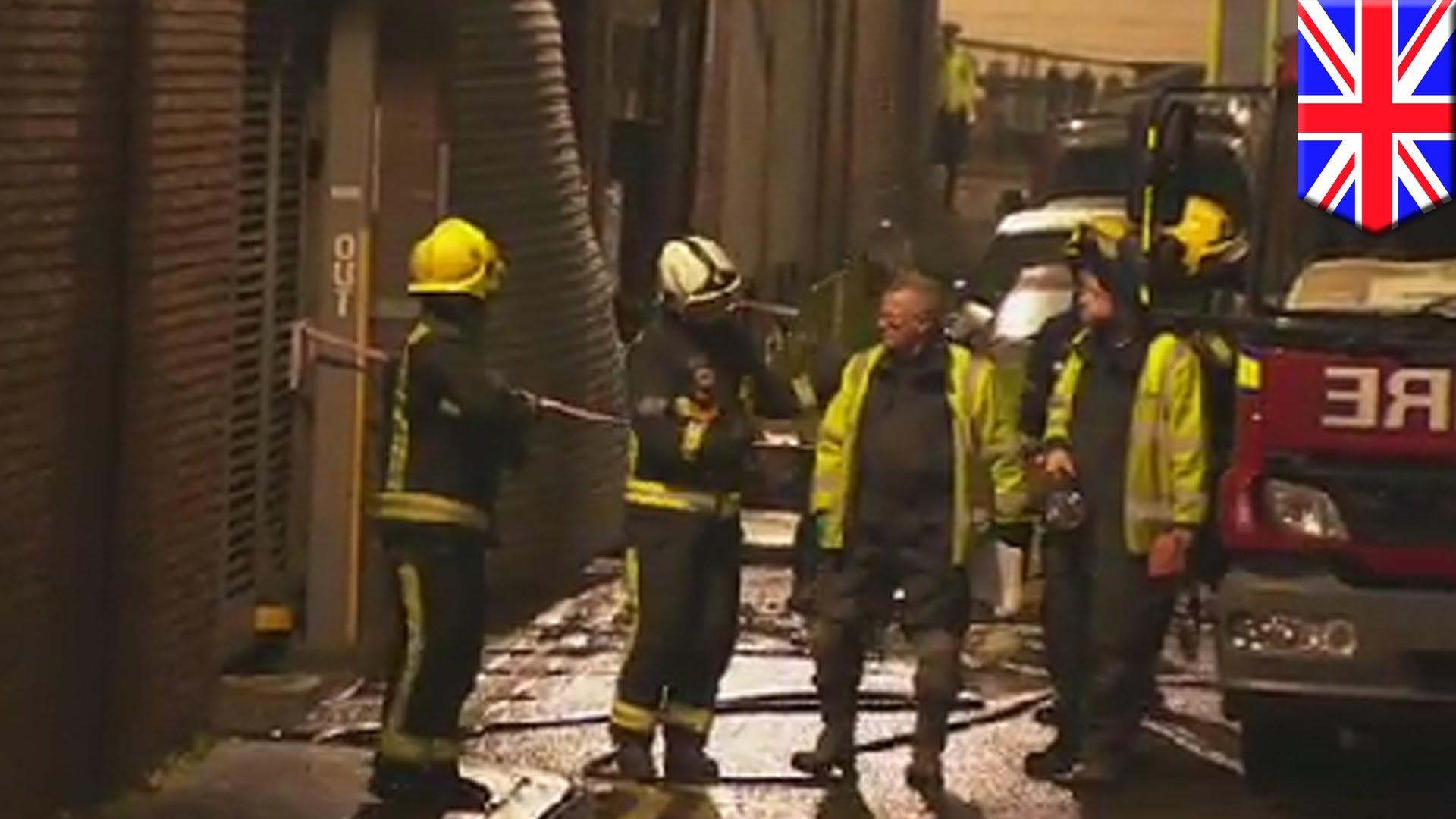EKSPLOZIJA U TROKATNICI: U Londonu ozlijeđeno najmanje pet osoba, interveniralo 75 vatrogasaca