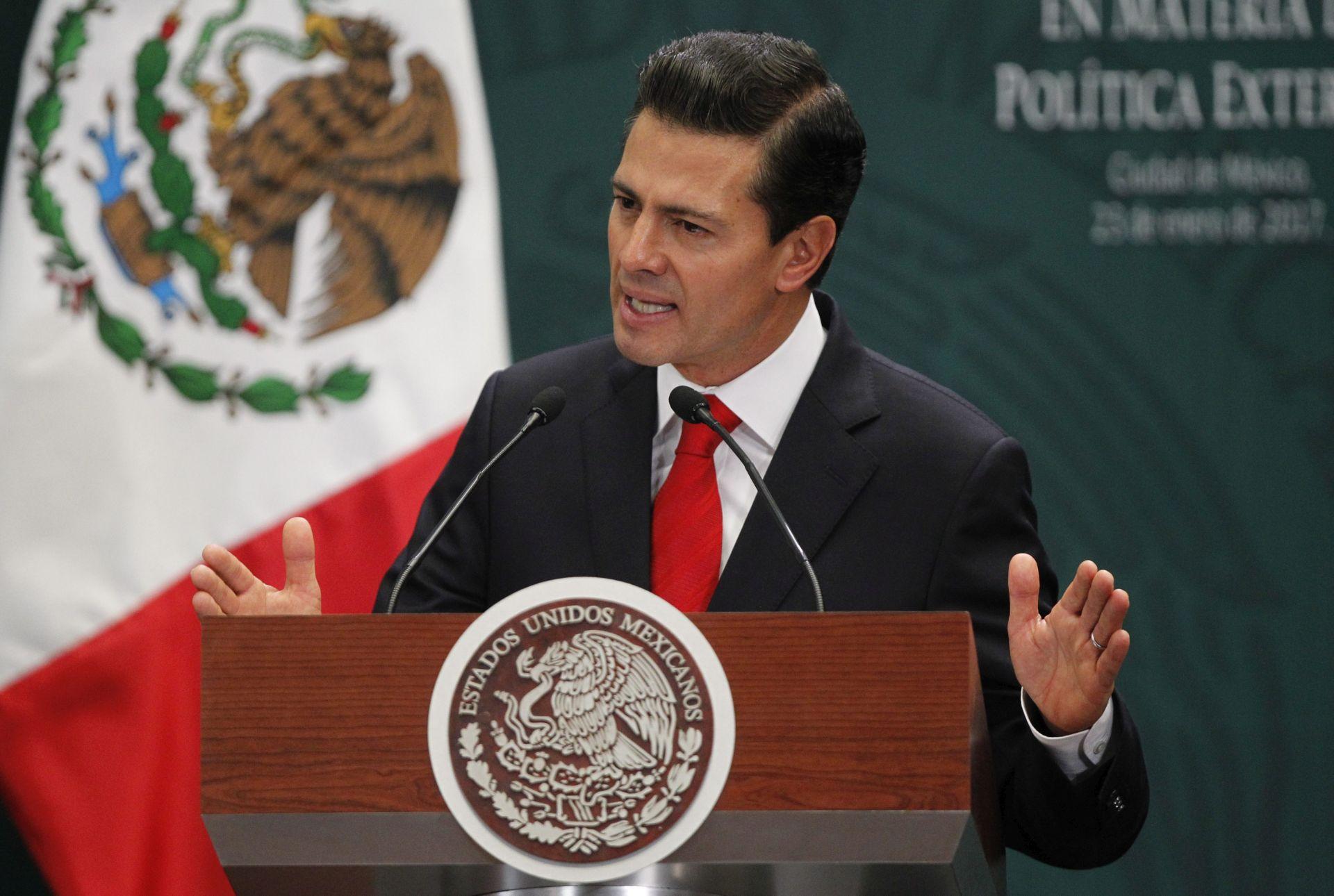 IZGRADNJA ZIDA: Meksički predsjednik Pena Nieto osudio Trumpovu odluku