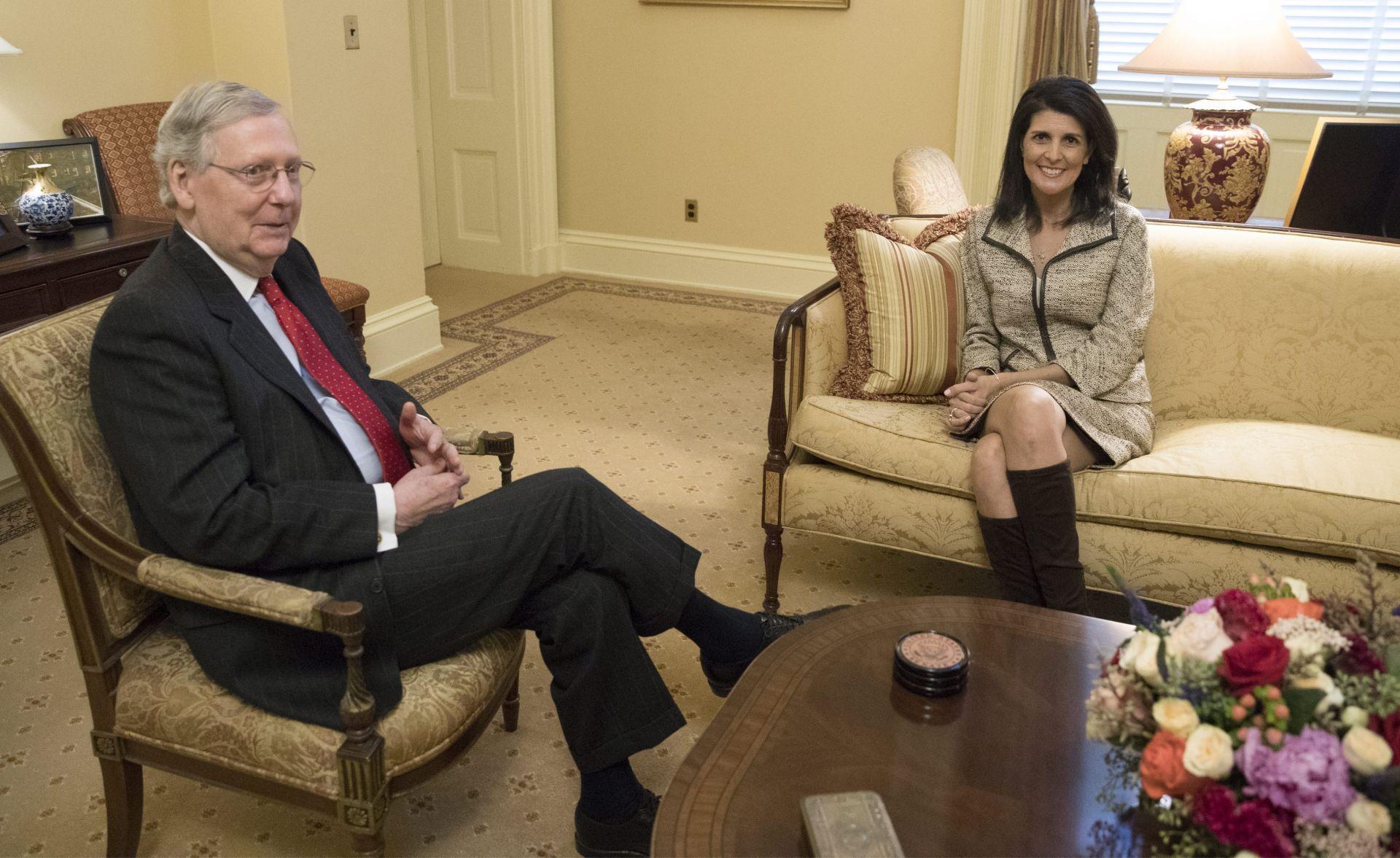 SENATSKI ODBOR: Nikki Haley za američku veleposlanicu u UN-u