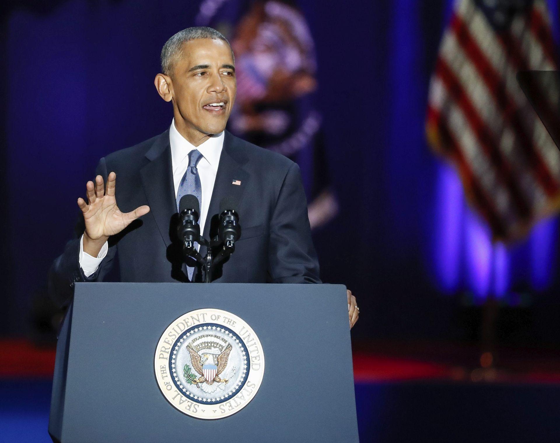 OPROŠTAJNI GOVOR Obama: 'Da, uspjeli smo'