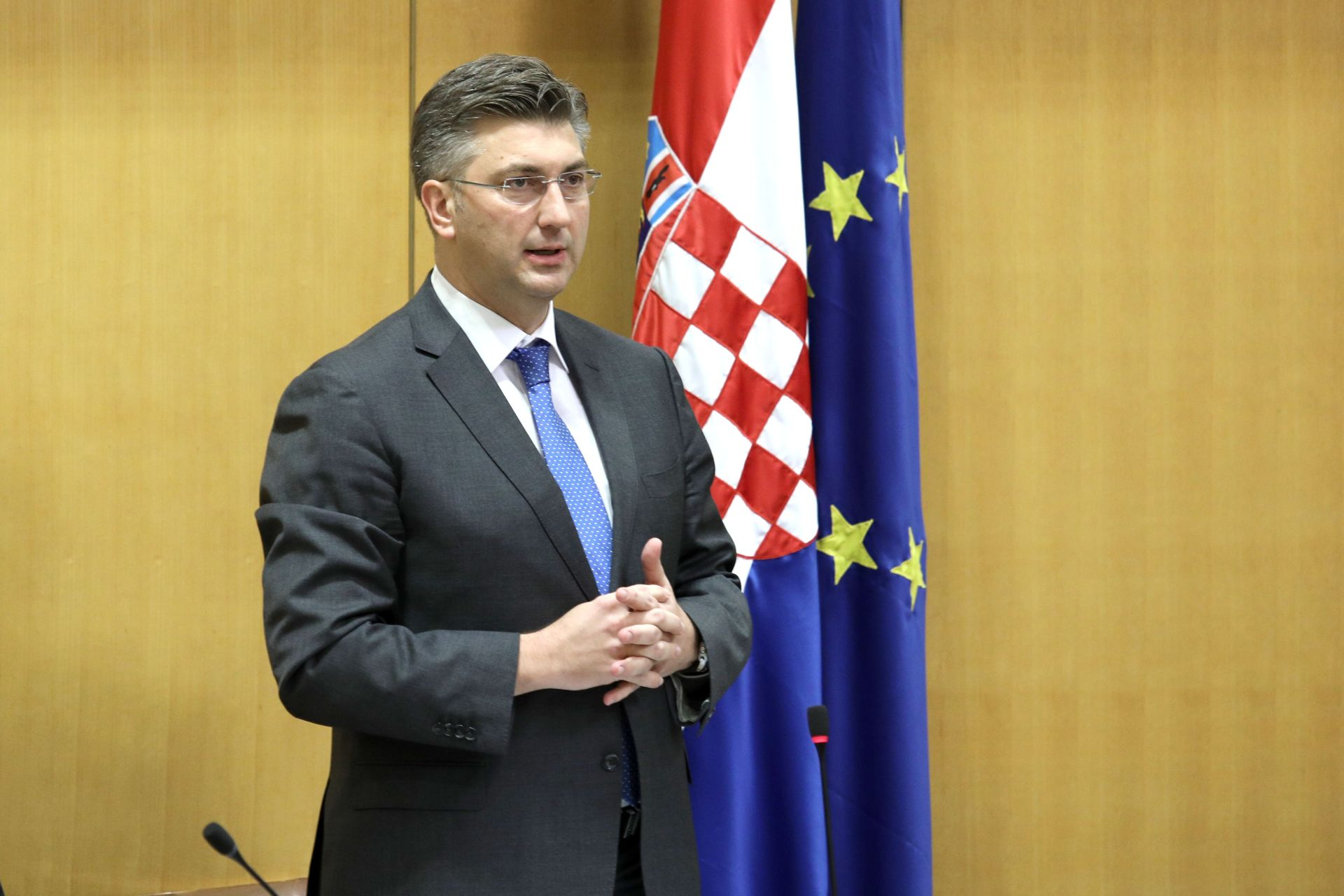 SABOR Premijer Plenković o sastancima Europskog vijeća tijekom 2016.