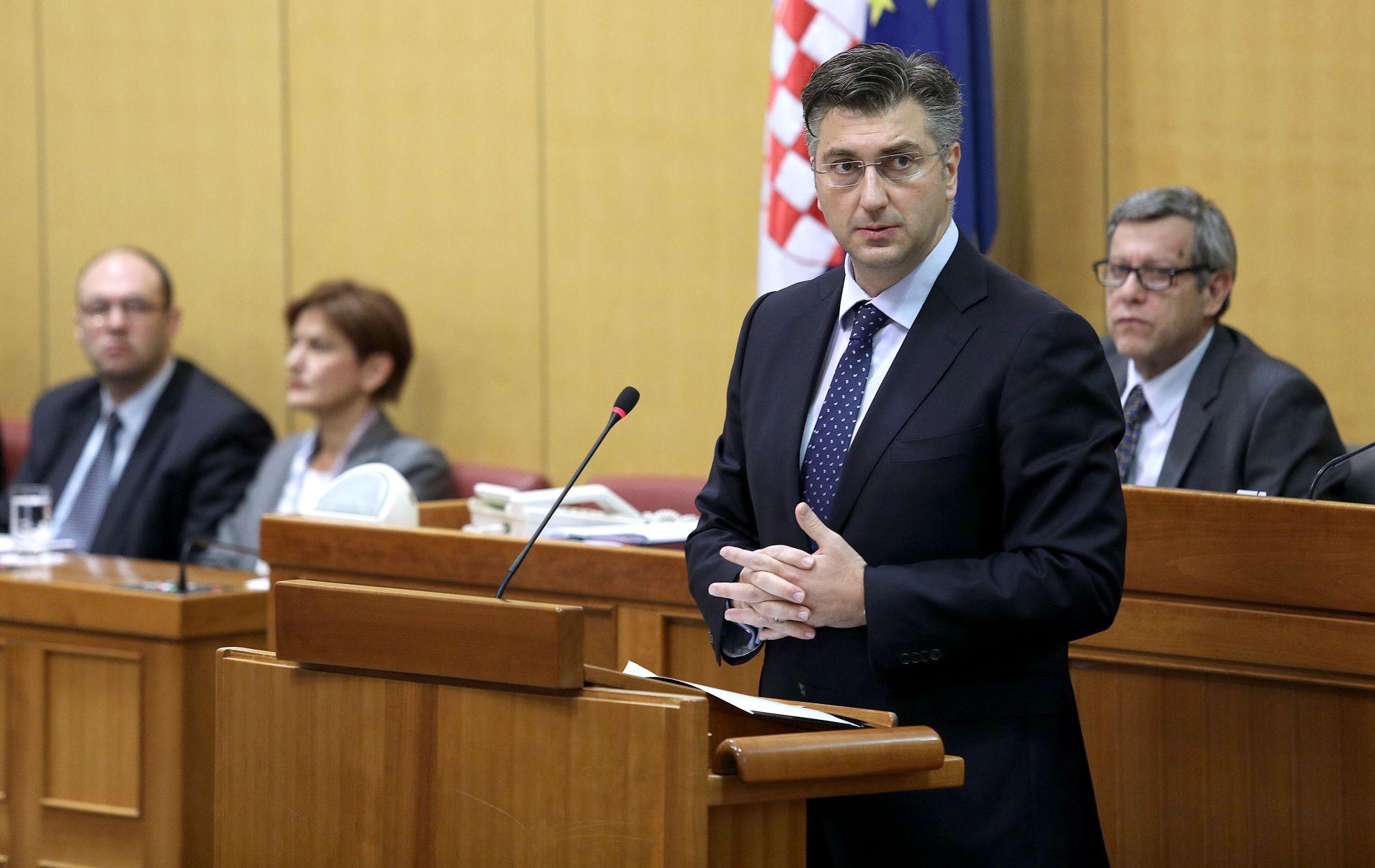 FORUM U DAVOSU Plenković: 'Na dnevnom redu su i teme interesa hrvatskih kompanija na tržištu u Srbiji'
