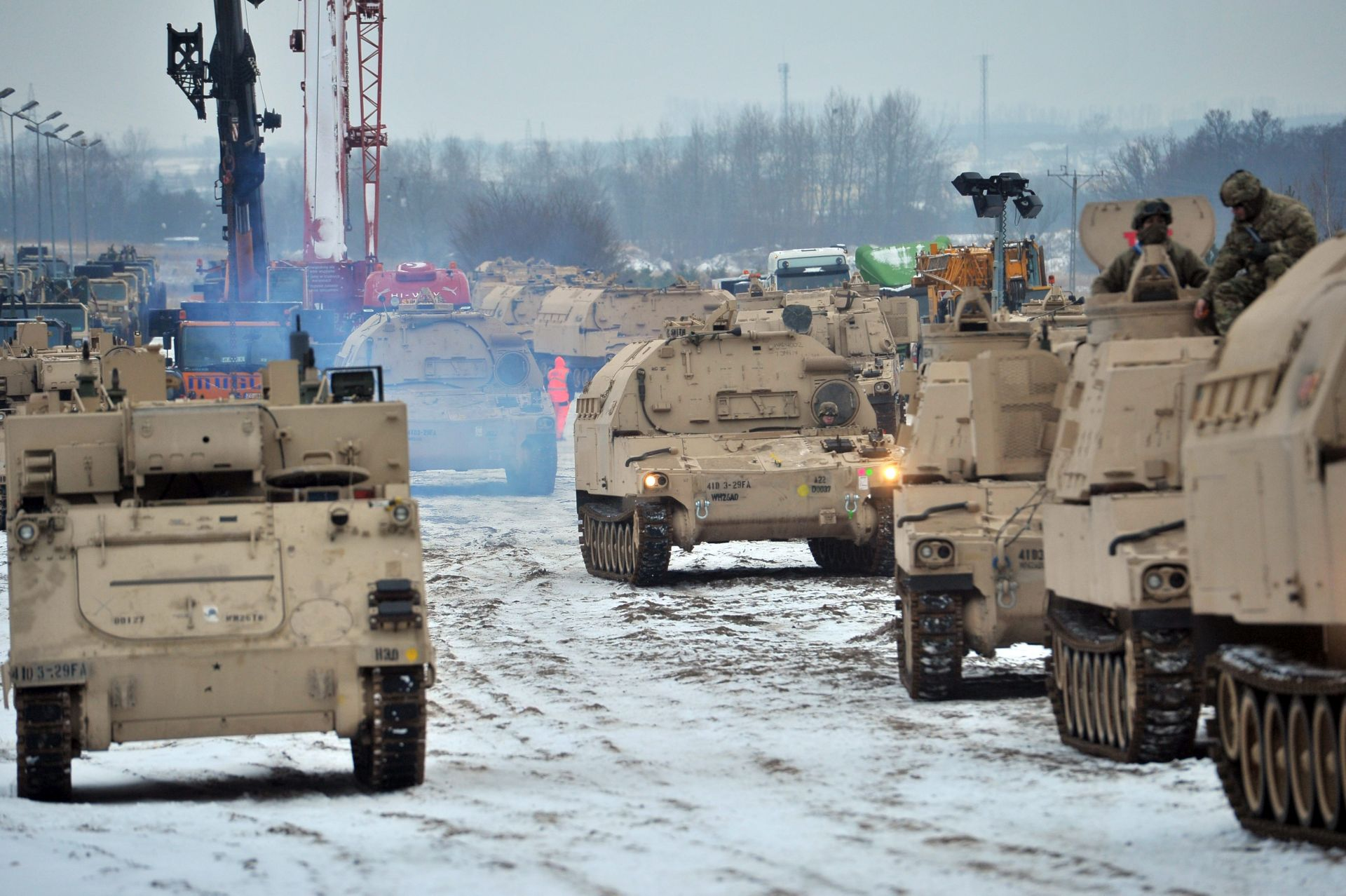 POLJSKA Stigla američka oklopna brigada za jačanje istočnog boka NATO-a
