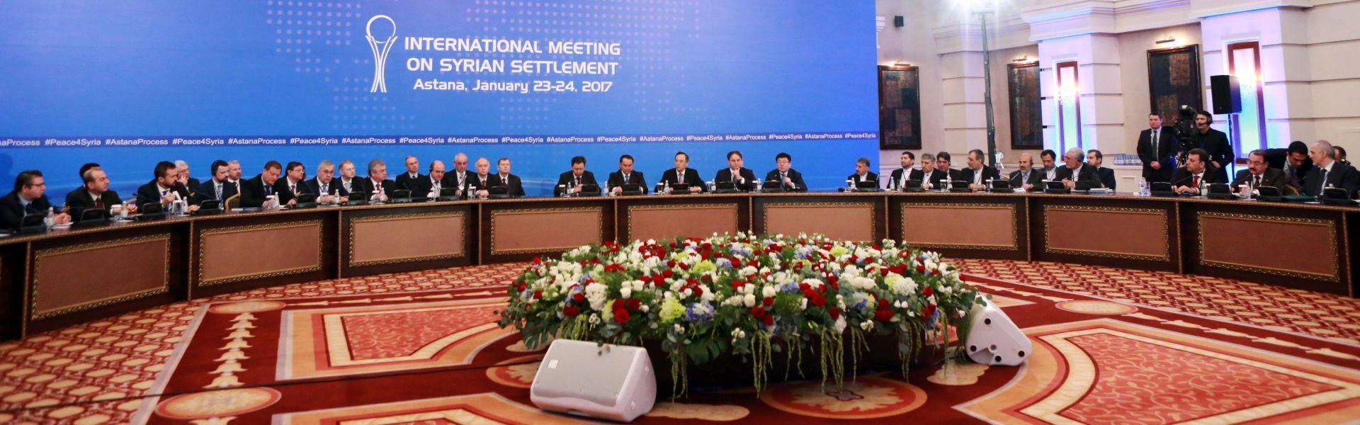 ASTANA: Rusija, Turska i Iran učvrstili sporazum o prekidu vatre u Siriji